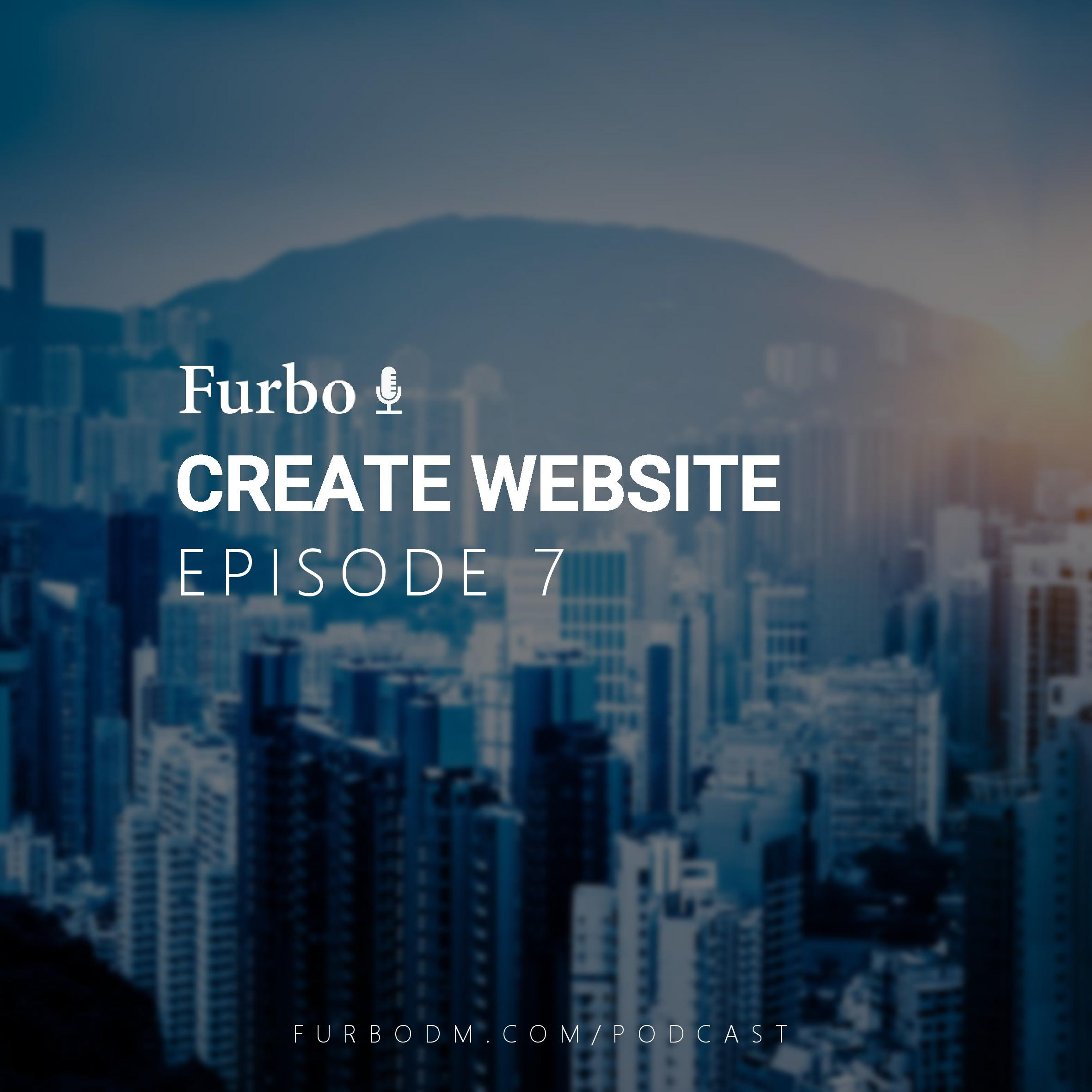 E7: Create Website