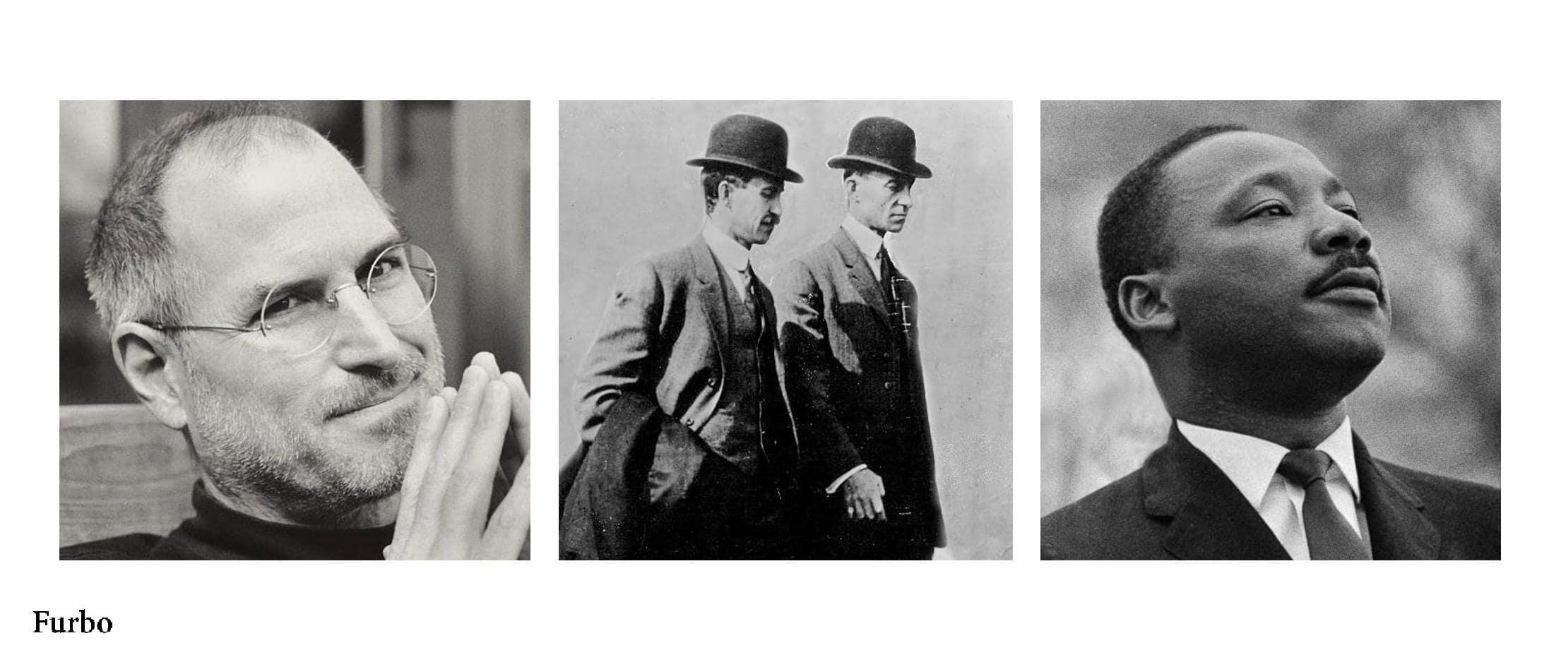 استیو جابز برادران رایت مارتین لوتر کینگ