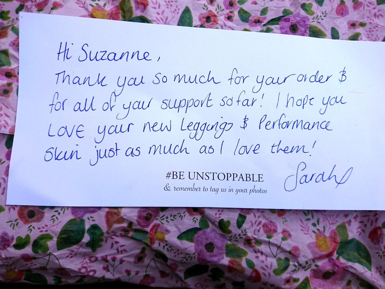 نامه تشکر از خرید فروشگاه اینترنتی
