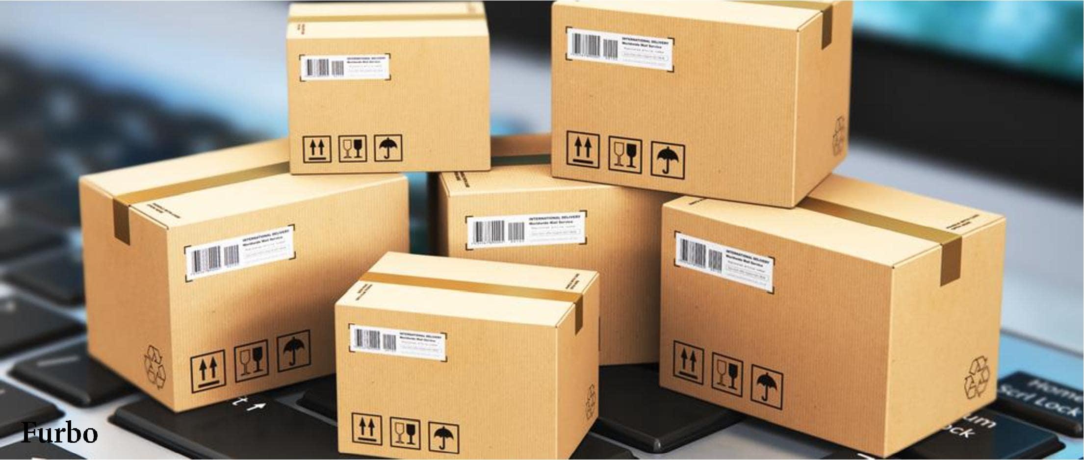 بسته بندی محصولات فروشگاه آنلاین
