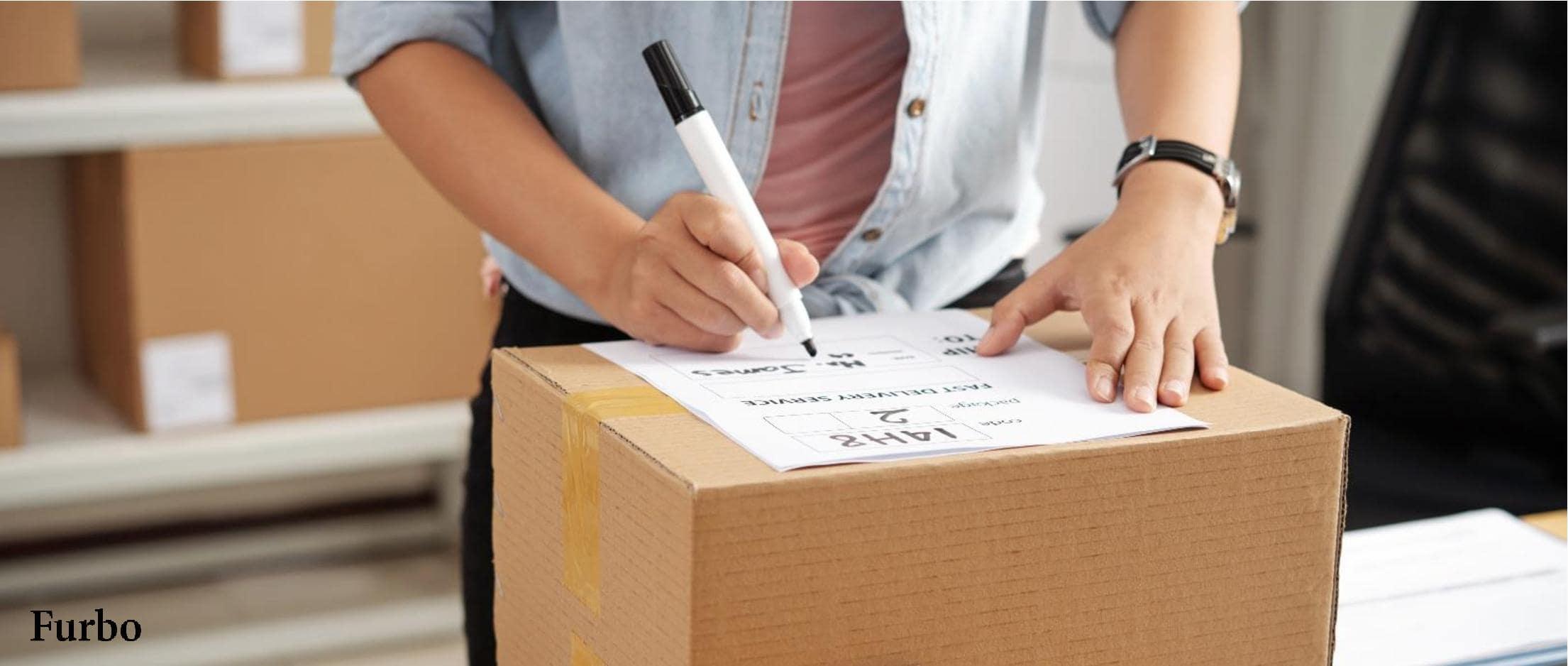 ارسال بسته پستی فروشگاه اینترنتی