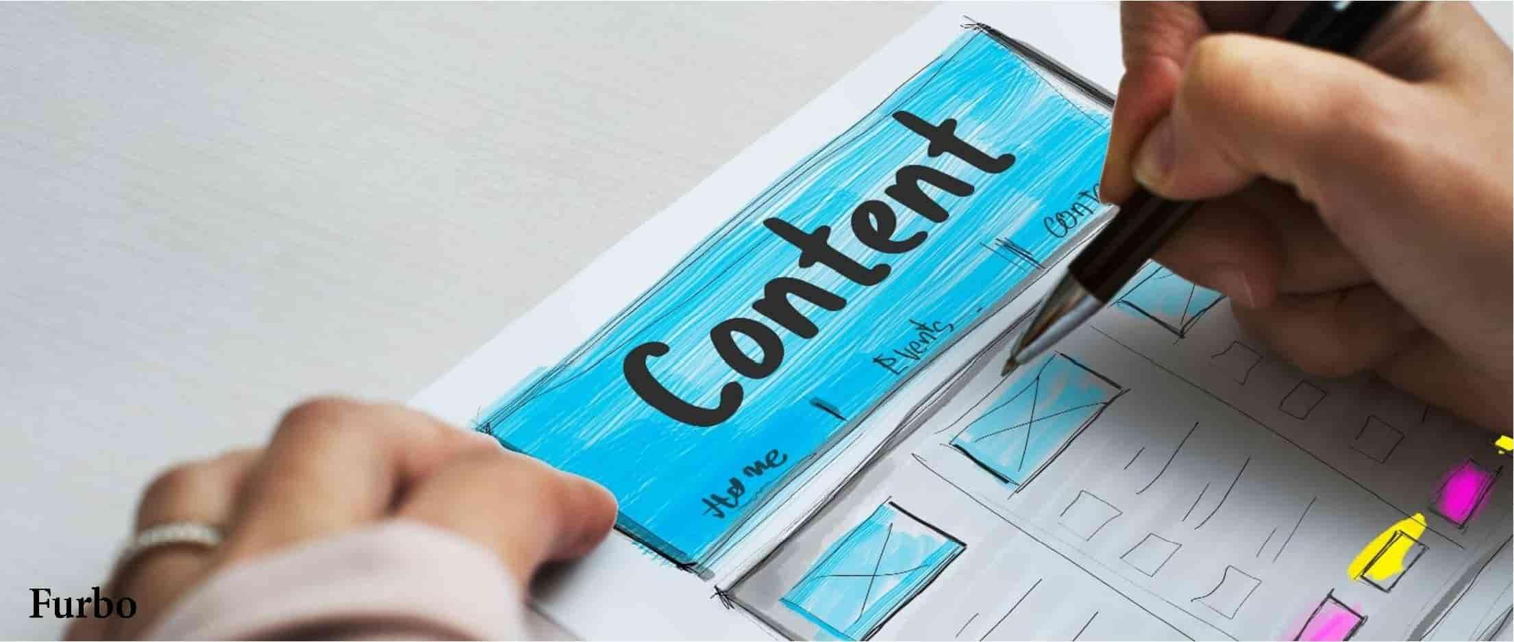 هدف تولید محتوا هدف بازاریابی محتوا